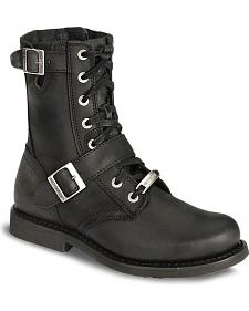 Harley Davidson Ranger Lace-Up Buckle Boots