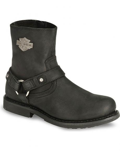 Harley Davidson Ranger Scout Pull-On Harness Boots