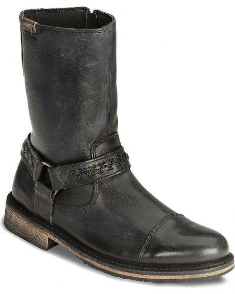 Harley Davidson Constrictor Pull-On Harness Motorcycle Boots