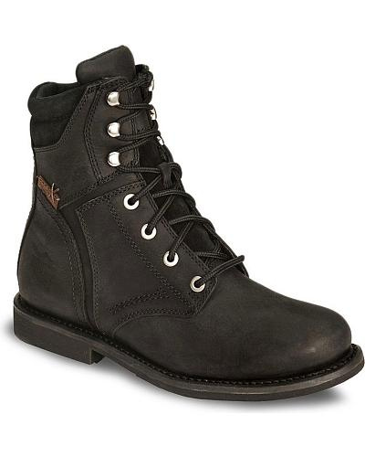 Harley Davidson Mens Darnel Lace-Up Motorcycle Boot Western & Country D94284
