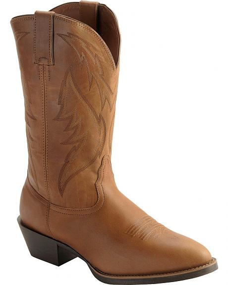 Nocona Competitor Western Cowboy Boots - Round Toe