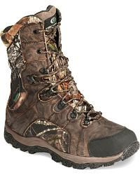 Mossy Oak Trail Branch Camo Hunting Boots - Round at Sheplers