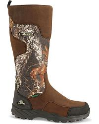 Mossy Oak Side Zip Snakeproof Boots - Round Toe at Sheplers