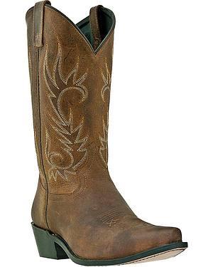 Laredo Basic Cowboy Boots - Snip Toe