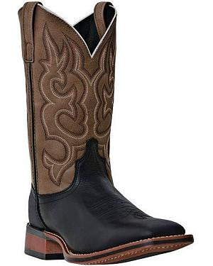 Laredo Basic Stockman Cowboy Boots - Square Toe