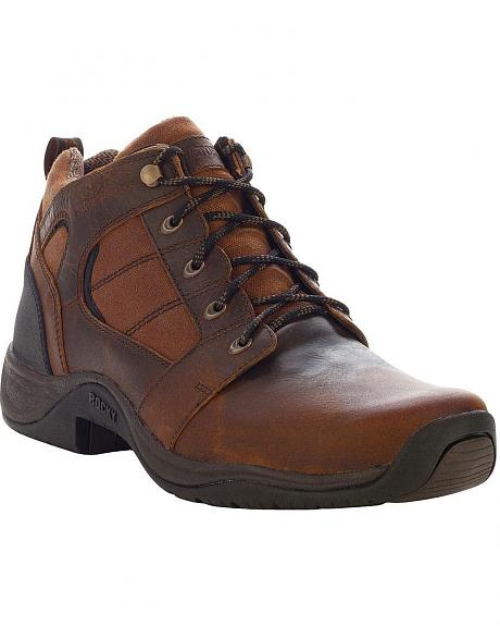 Rocky Waterproof Barnstormer Lace-Up Hiker Boots - Round Toe