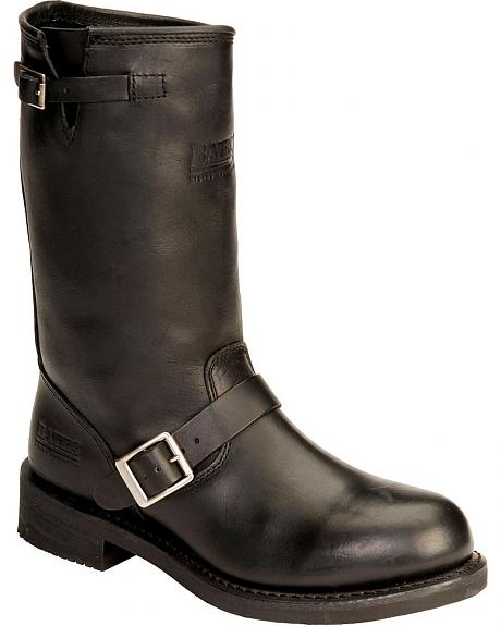 Bates Palomar Pull-On Harness Motorcycle Boots - Round Toe