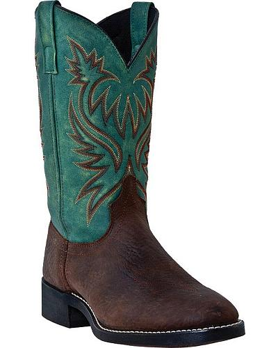 Laredo Milan Cowboy Boots Square Toe Western & Country 4247