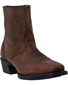 Laredo Acord Zipper Boots - Square Toe