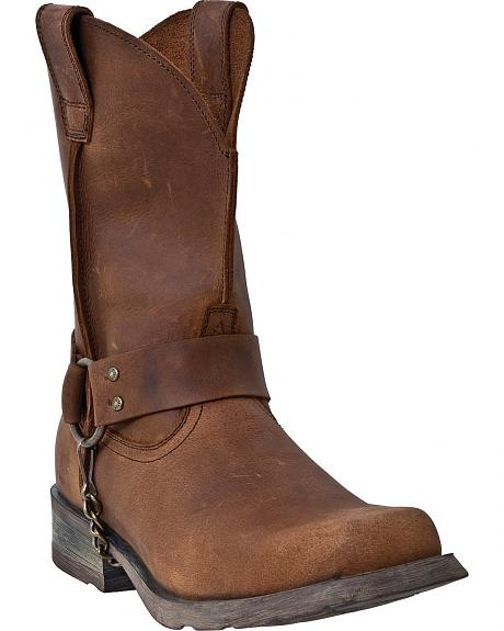 Dingo Axyl Harness Boots - Square Toe