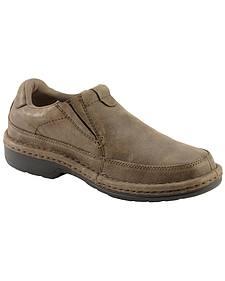 Roper Nubuck Opanka Slip-On Shoes
