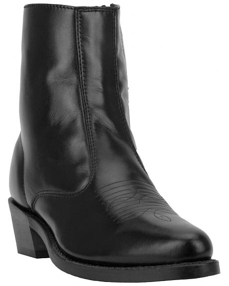 Laredo Long Haul Zipper Western Boots - Round Toe