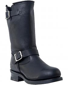 Dingo Rob Harness Boots - Round Toe