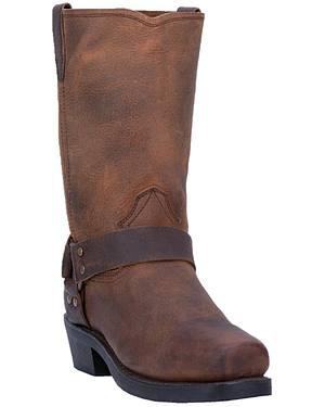 Dingo Dean Harness Boots - Snoot Toe