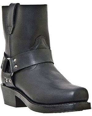 Dingo Rev Up Zipper Motorcycle Boots - Snoot Toe