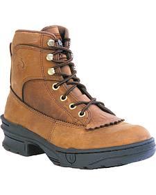 Roper Crossrider Kiltie HorseShoes - Round Toe