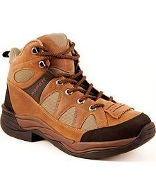 Roper Endurance Lace-Up HorseShoes - Round Toe