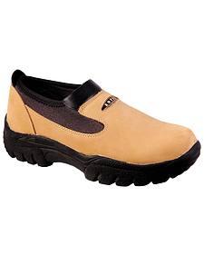 Roper Performance Slip-On Shoes - Round Toe