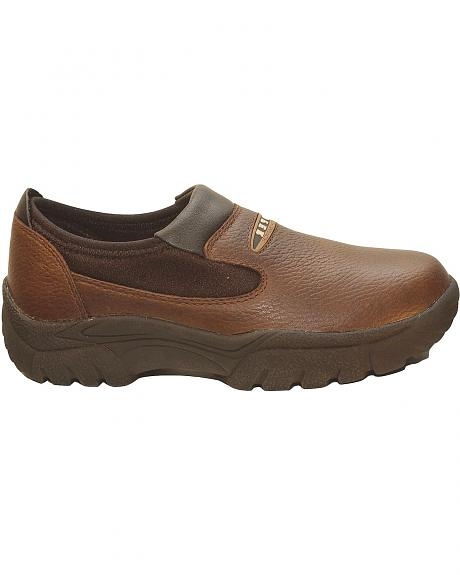 Roper Performance Slip-On Shoes - Round Toe