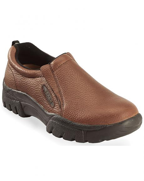Roper Performance Slip-On Casual Shoes - Wide