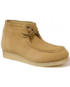Roper Tan Suede Chukka Gum Casual Shoes