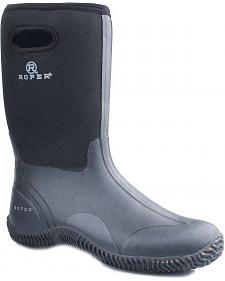 Roper Waterproof Rugged Neoprene Barnyard Boots