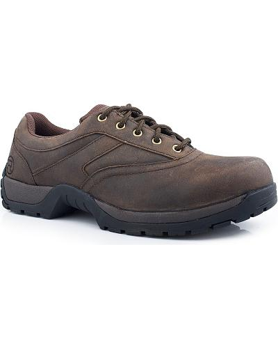 Roper Performance Lite Lace-Up Oxford Shoes Western & Country 09-020-1654-1598 BR
