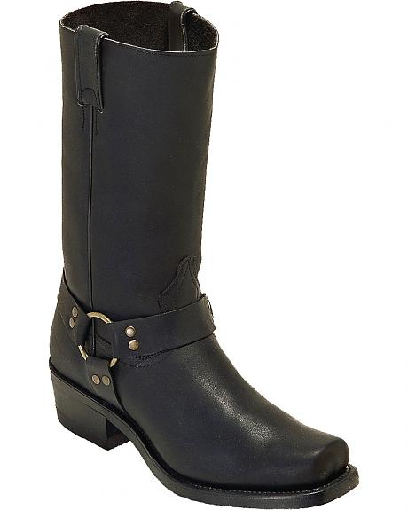 Boulet Men's Harness Motorcycle Boots - Square Toe