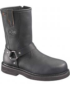 Harley Davidson Bill Motorcycle Boots - Steel Toe