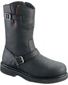 Harley Davidson Men's Jason Harness Boots - Steel Toe