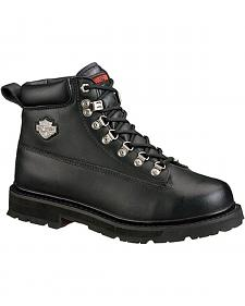 Harley Davidson Men's Drive Lace-Up Boots - Steel Toe