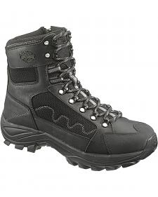 Harley Davidson Roland Men's Lace-up Boots - Round Toe