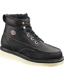 Harley Davidson Men's Beau Lace-Up Boots