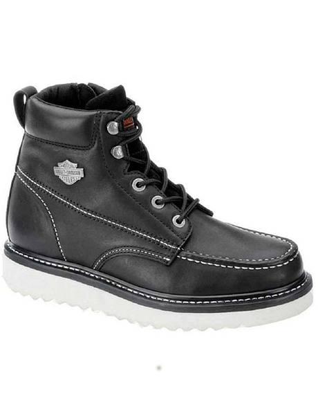 Harley Davidson Men's Beau Lace-Up Boots