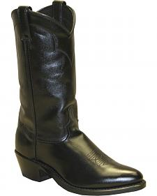 Abilene Polished Cowhide Boots - Medium Toe