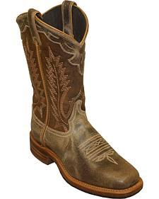 Abilene Dakota Western Cowboy Boots - Sqaure Toe
