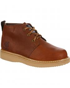 Georgia Farm and Ranch Chukka Work Boots - Round Toe