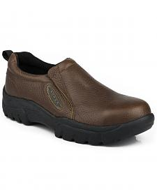 Roper Men's Slip-On Steel Toe Work Shoes