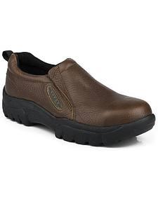 Roper Men's Slip-On Steel Toe Work Shoes