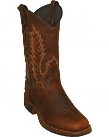 Abilene Boots Men's Pioneer Western Boots - Square Toe