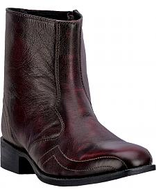 "Laredo Men's 7"" Hoxie Side Zipper Boots - Square Toe"