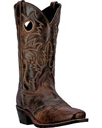 Laredo Pequin Cowboy Boots - Square Toe at Sheplers