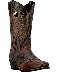 Laredo Pequin Cowboy Boots - Square Toe