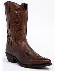 Laredo Men's Laramie Western Boots - Snip Toe