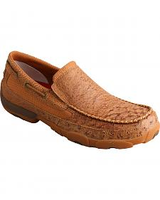 Twisted X Men's Brown Driving Mocs