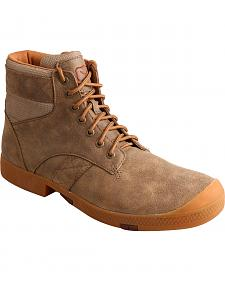 Twisted X Men's Casual Lace-Up Boots - Round Toe