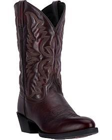 Laredo Birchwood Cowboy Boots - Round Toe