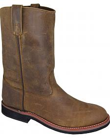 Smoky Mountain Men's Wellington Cowboy Boots - Round Toe