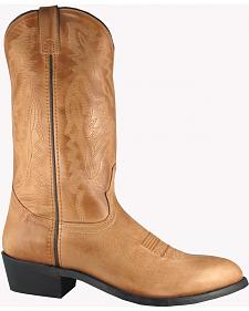 Smoky Mountain Men's Bomber Cowboy Boots - Round Toe