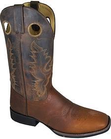 Smoky Mountain Men's Luke Cowboy Boots - Square Toe